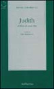 Judith. Il libro di una vita