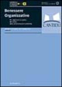 Libro Benessere organizzativo. Per migliorare la qualità del lavoro nelle amministrazioni pubbliche