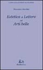 Estetica di lettere ed arti belle