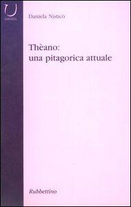 Libro Thèano: una pitagorica attuale Daniela Nisticò