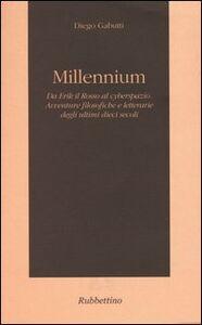 Millennium. Da Erik il Rosso al cyberspazio. Avventure filosofiche e letterarie degli ultimi dieci secoli
