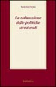La valutazione delle politiche strutturali