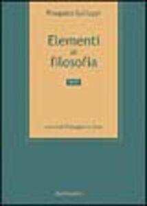 Elementi di filosofia. Vol. 2