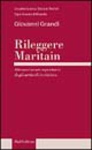 Rileggere Maritain. Attraverso un repertorio degli articoli in rivista