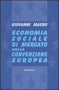 Economia sociale di mercato nella convenzione europea