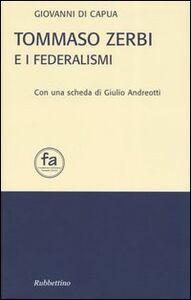Tommaso Zerbi e i federalismi