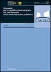 Libro Strumenti per la pianificazione integrata del cambiamento nelle amministrazioni pubbliche