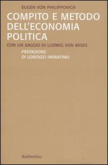 Antondemarirreguera.es Compito e metodo dell'economia politica Image