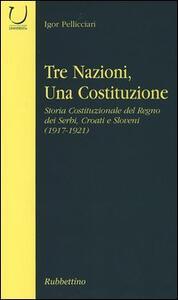 Tre nazioni, una costituzione. Storia costituzionale del Regno dei Serbi, Croati e Sloveni (1917-1921)