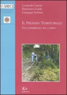 Camfeed.it Il presidio territoriale. Una esperienza sul campo. Ediz. illustrata Image