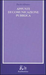 Appunti di comunicazione pubblica