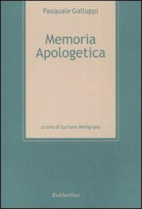 Memoria apologetica