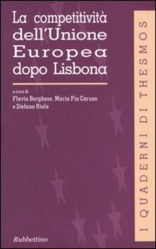 Librisulrazzismo.it La competitività dell'Unione Europea dopo Lisbona Image
