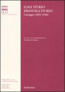 Carteggio (1891-1948). Vol. 4