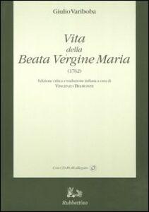 Vita della Beata Vergine Maria (1762)-Gjella e Shën Mëris s'Virgjër (1762)