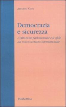 Antondemarirreguera.es Democrazia e sicurezza. L'istituzione parlamentare e le sfide del nuovo scenario internazionale Image