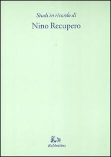 Promoartpalermo.it Studi in ricordo di Nino Recupero Image