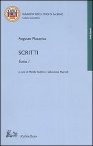 Libro Scritti Augusto Placanica