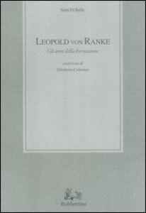 Leopold von Ranke. Gli anni della formazione