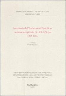 Ipabsantonioabatetrino.it Inventario dell'Archivio del Pontificio seminario regionale Pio XII di Siena (1205-2003) Image