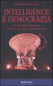 Intelligence e democrazia. La relazione responsiva nella società della comunicazione