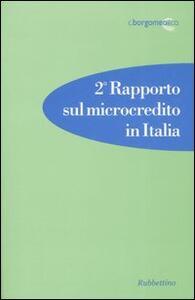 Secondo rapporto sul microcredito in Italia
