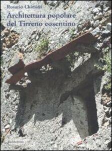 Architettura popolare del Tirreno cosentino