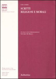 Scritti religiosi e morali. Vol. 2