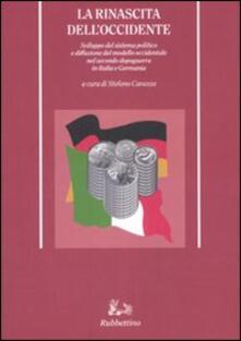 Premioquesti.it La rinascita dell'Occidente. Sviluppo del sistema politico e diffusione del modello occidentale nel secondo dopoguerra in Italia e Germania Image