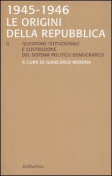 Equilibrifestival.it Le origini della Repubblica 1945-1946 Image