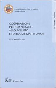 Cooperazione internazionale allo sviluppo e tutela dei diritti umani