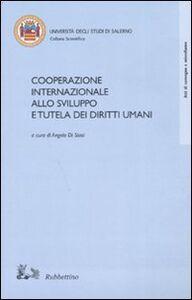 Foto Cover di Cooperazione internazionale allo sviluppo e tutela dei diritti umani, Libro di  edito da Rubbettino
