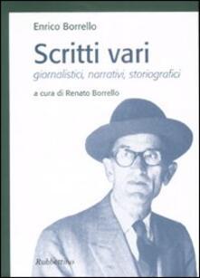 Parcoarenas.it Scritti vari. Giornalistici, narrativi, storiografici Image