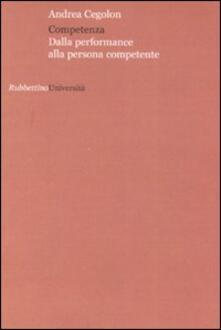 Competenza. Dalla performance alla persona competente.pdf