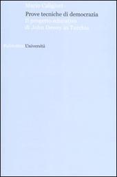 Prove tecniche di democrazia. Il progetto educativo di John Dewey in Turchia