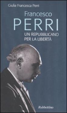 Nicocaradonna.it Francesco Perri un repubblicano per la libertà Image