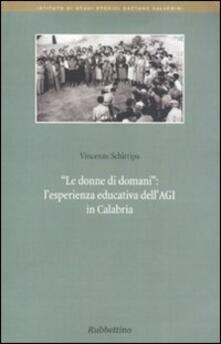 Mercatinidinataletorino.it Le donne di domani. L'esperienza educativa dell'Agi in Calabria Image