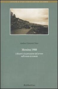 Messina 1908. I disastri e la percezione del terrore nell'evento terremoto