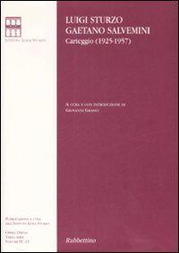 Carteggio (1925-1957)
