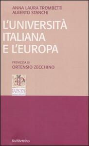 L' università italiana e l'Europa
