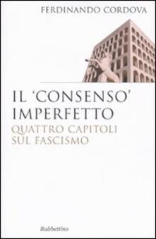 Promoartpalermo.it Il «consenso» imperfetto. Quattro capitoli sul fascismo Image