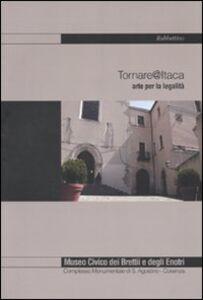 Libro Tornare @ Itaca. Arte per la legalità