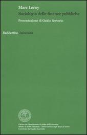 Sociologia delle finanze pubbliche