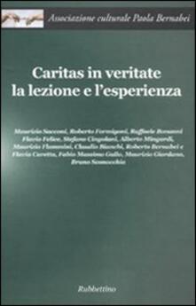 Librisulladiversita.it Caritas in veritate. La lezione e l'esperienza Image