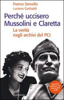 Winniearcher.com Perché uccisero Mussolini e Claretta. La verità negli archivi del PCI Image