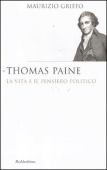 Winniearcher.com Thomas Paine. La vita e il pensiero politico Image