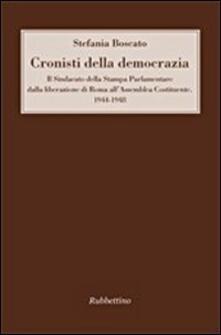Listadelpopolo.it Cronisti della democrazia. Il sindacato della Stampa Parlamentare dalla liberazione di Roma all'Assemblea Costituente. 1944-1948 Image