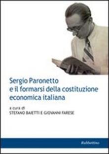 Winniearcher.com Sergio Paronetto e il formarsi della costituzione economica italiana Image