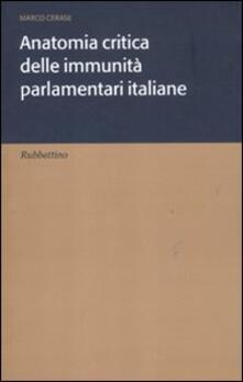Winniearcher.com Anatomia critica delle immunità parlamentari italiane Image