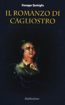 Il romanzo di Cagliostro - Giuseppe Quatriglio - copertina